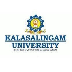 Kalasalingam university results